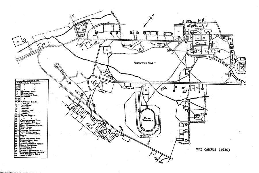 Map Gallery History Unirel Virginia Tech