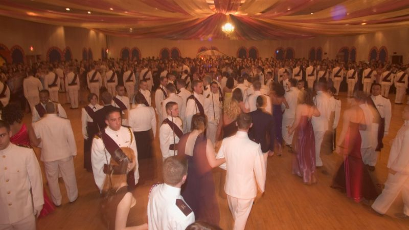 Cadets at Ring Dance